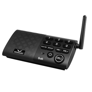 Hosmart 1/2 Mile Digital Wireless Intercom System with Digital Enhanced Cordless Telecommunications 6.0 Technology for Home and Office (Only 1 S))