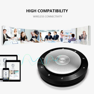 Wireless Conference Speakerphone-Conference Call Speaker Portable Conference Microphone for Mobile Phone and Other VoIP Calls