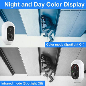 Hosmart Smart Wireless Home Security Camera System