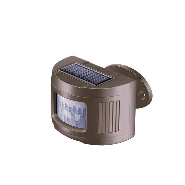 Pairable 1/2 Mile Long Range Solar Wireless Driveway Alarm Weatherproof Motion Sensor (2020 New Version)