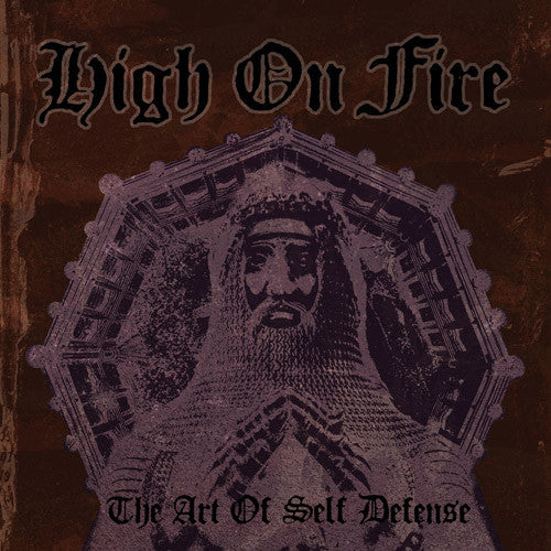 HIGH ON FIRE 'THE ART OF SELF DEFENSE' LP