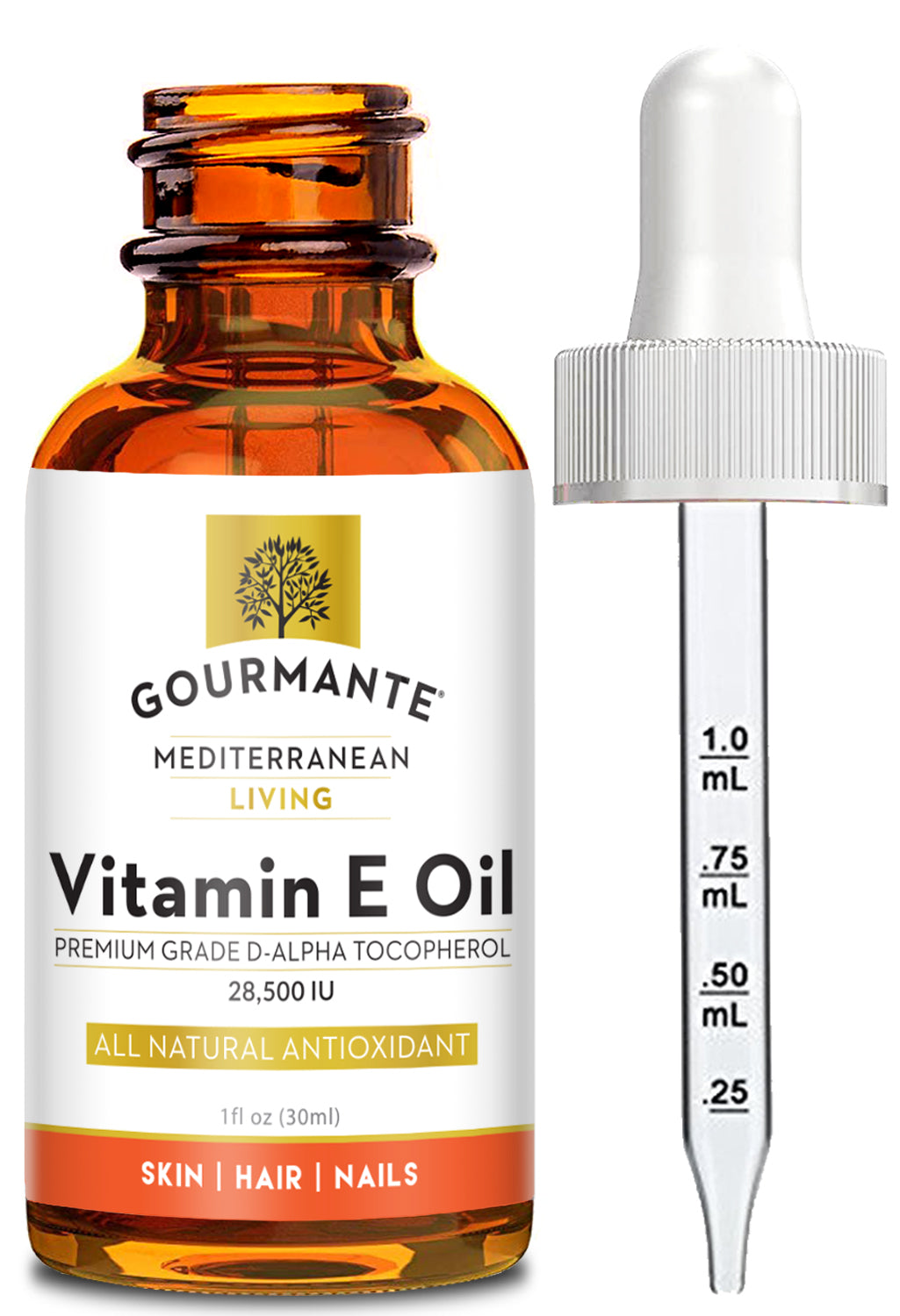 Gourmante Natural Vitamin E Oil