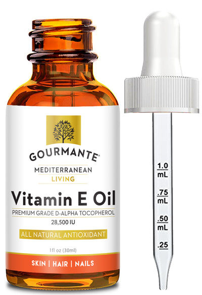 Gourmante Natural Vitamin E Oil D-Alpha Tocopherol 28,500 IU