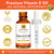 Gourmante vitamin e oil is non-gmo, vegan, paraben free, gluten free & pesticide free