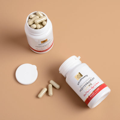 Vegetarian, easy to swallow capsules to support cardiovascular health