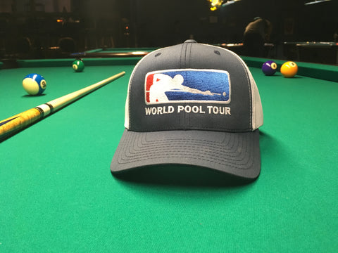 NAVY/WHITE WORLD POOL TOUR SNAPBACK