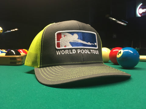 NEON YELLOW WORLD POOL TOUR SNAPBACK