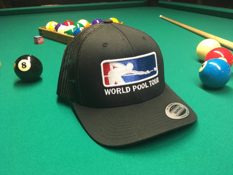 BLACK WORLD POOL TOUR SNAPBACK
