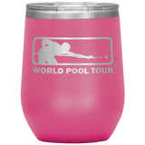WORLD POOL TOUR 12 OZ WINE TUMBLER