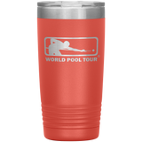 WORLD POOL TOUR 20 OZ. TUMBLER