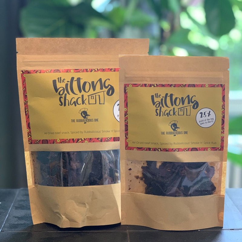 The Rubbalicious One Bulk Bag - 1kg Chipotle Biltong