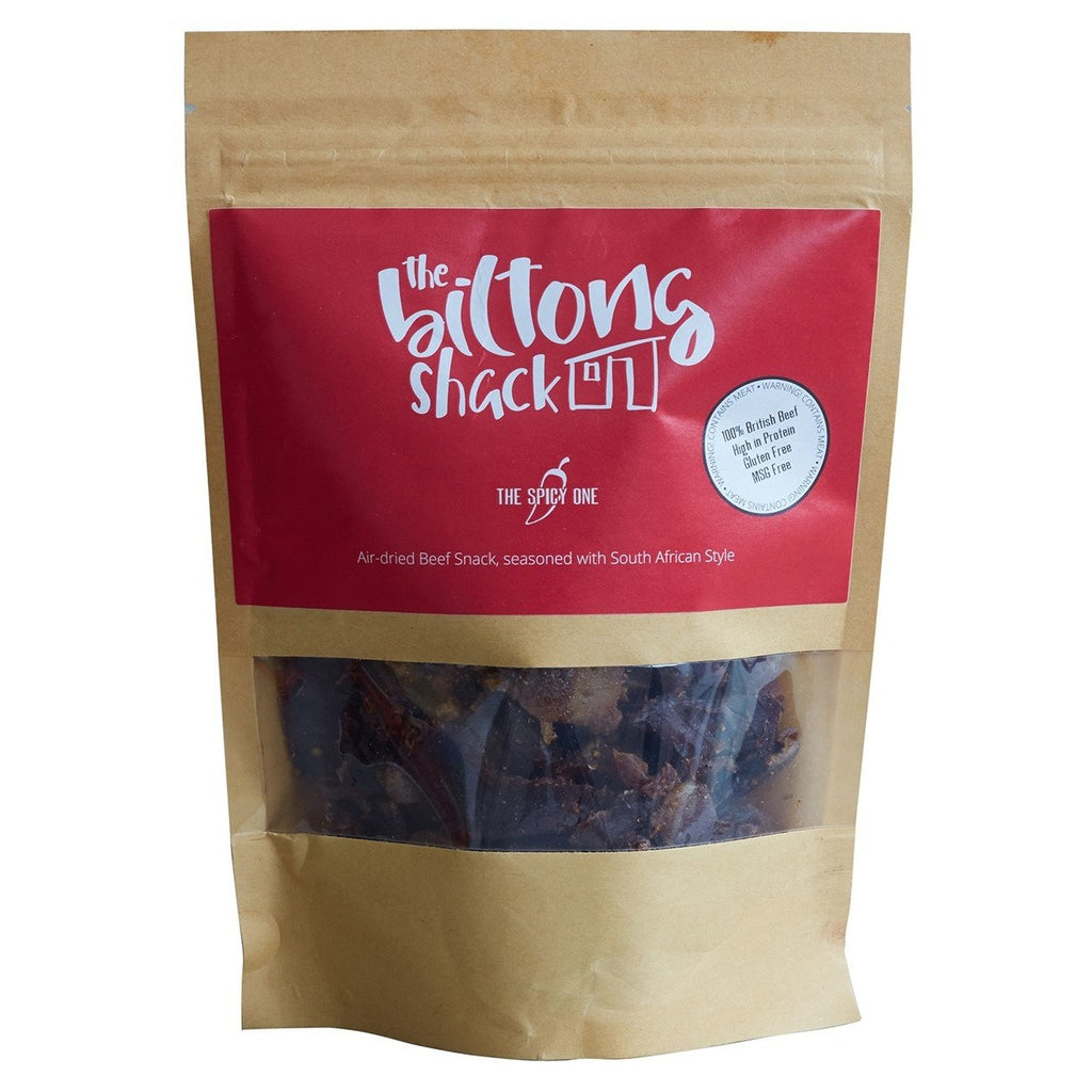 The Spicy One Shack Sharing Bag - 250g Chilli Biltong