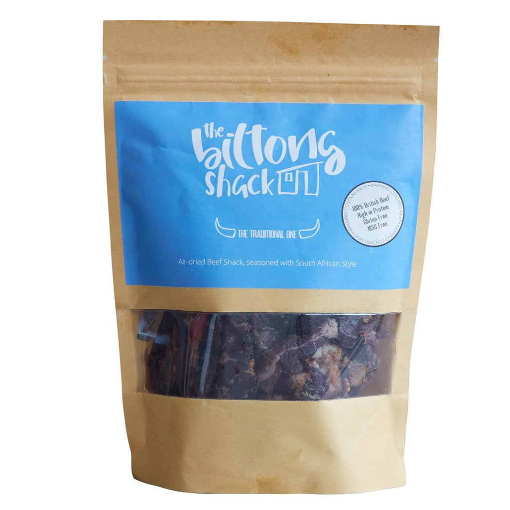 The Traditional One Sharing Bag - 250g Original Biltong