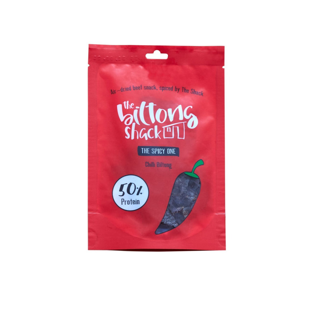 The Spicy One -  10 x Chilli Biltong Snack Packs