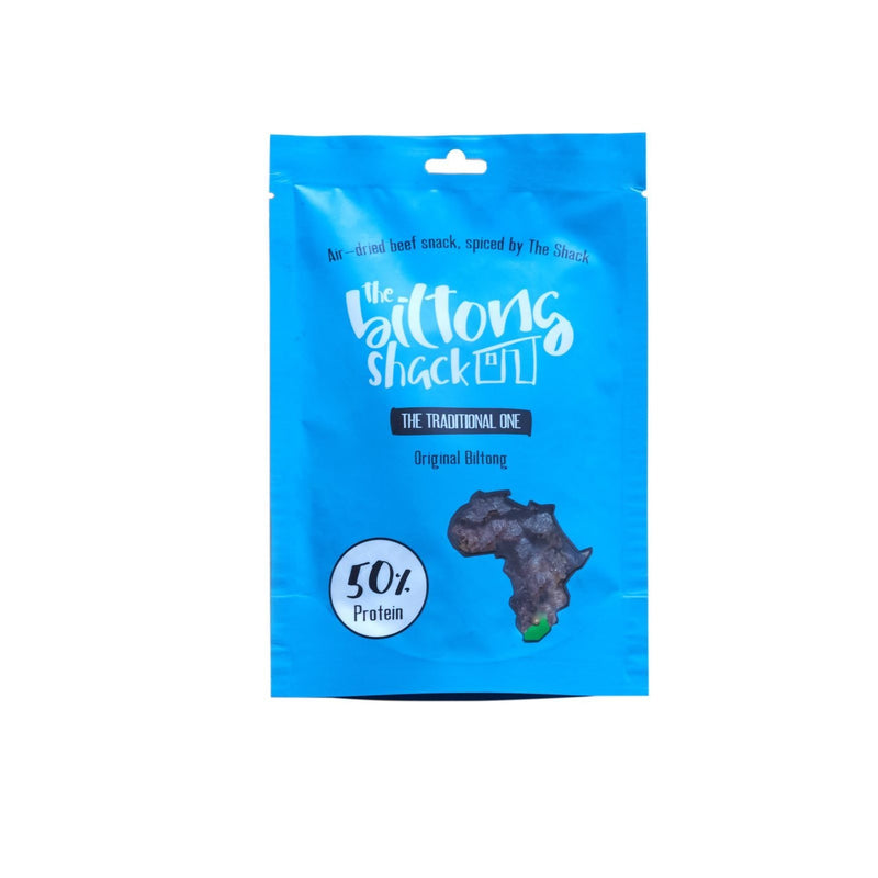 The Traditional One - 10 x original biltong snack bags