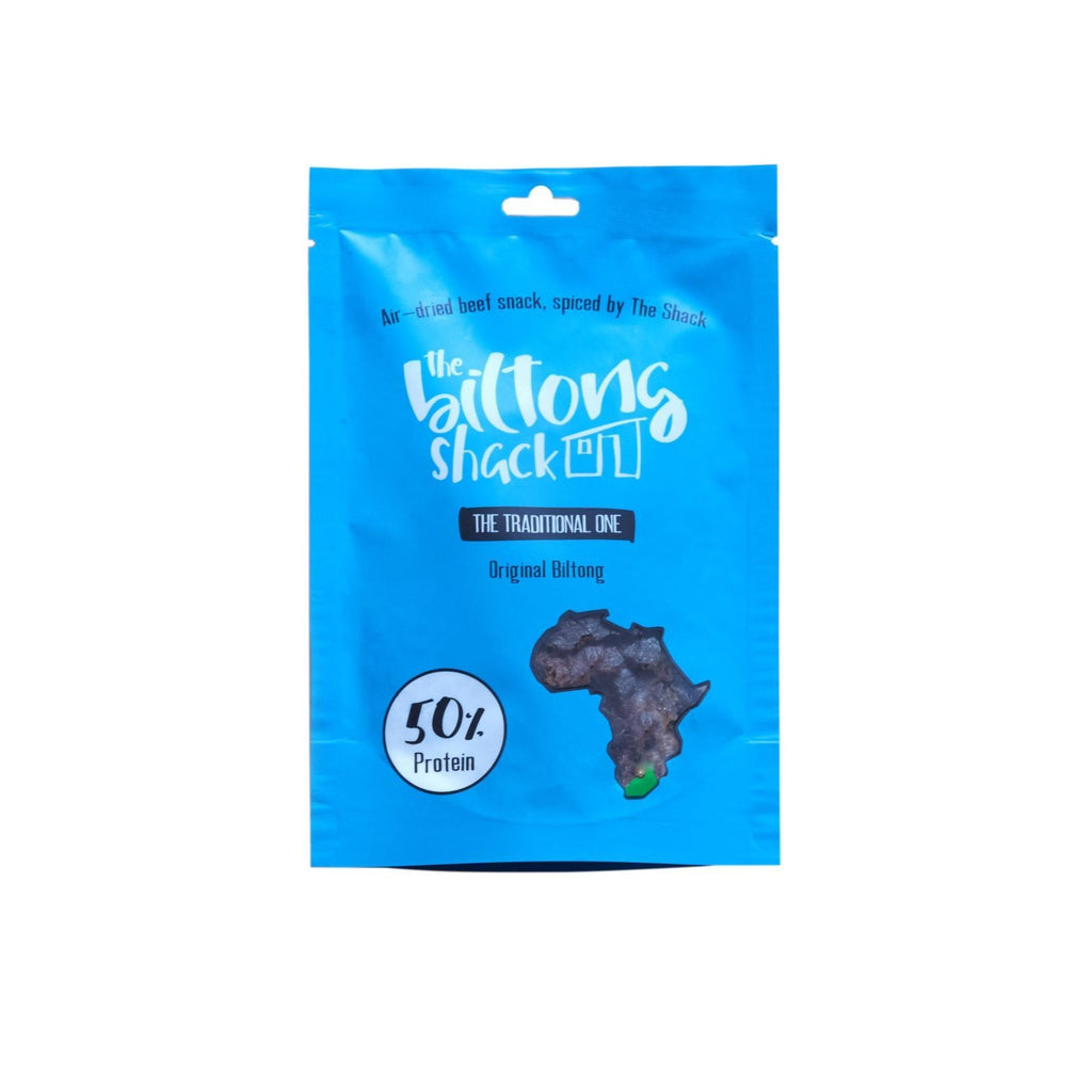 The Traditional One - 20 x Original Biltong Snack Bags