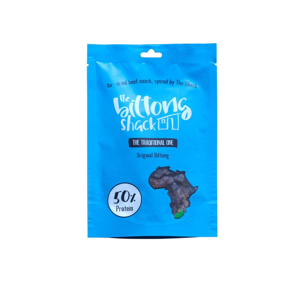 The Traditional One Snack Bag - 30g Original Biltong