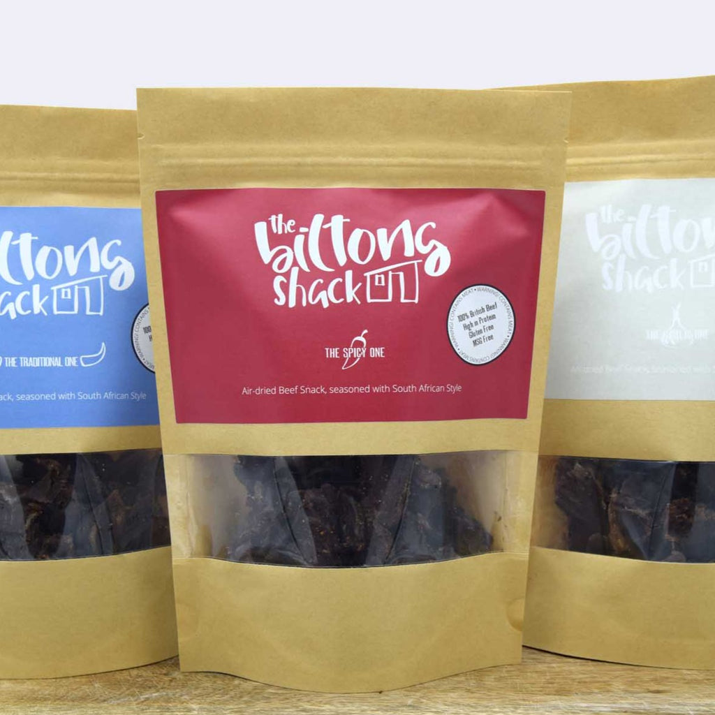 The Mixed One -  3 x 250g Biltong Sharer bags