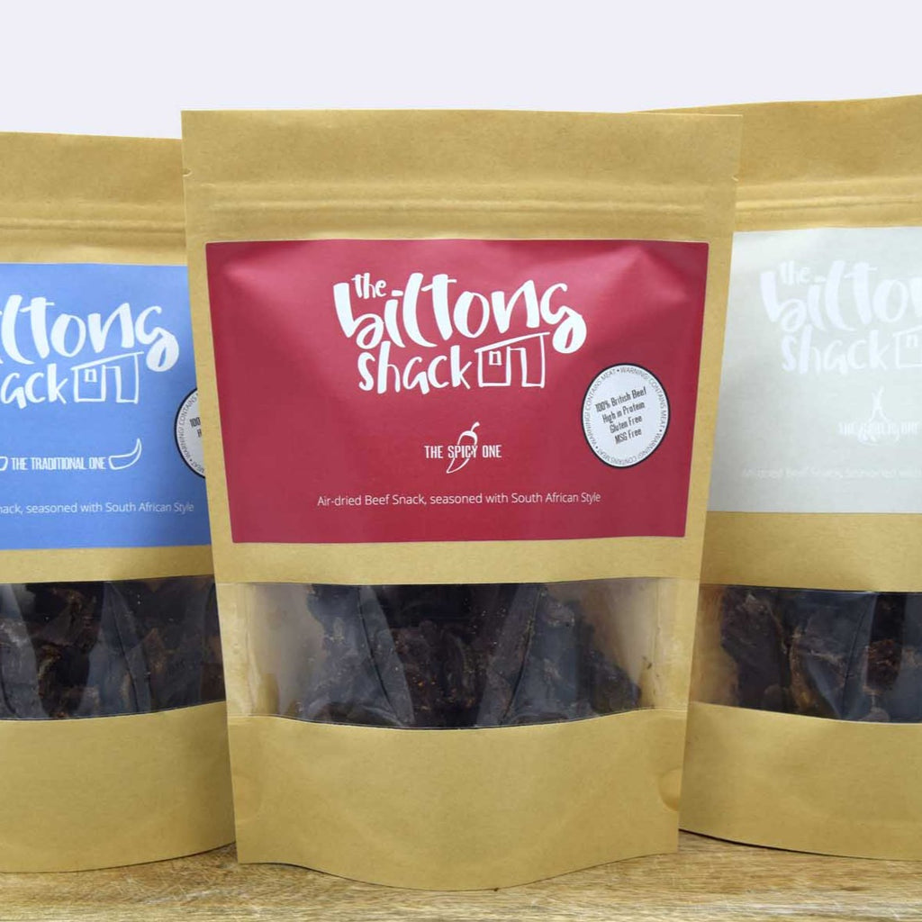 The Mixed One -  4 x 250g Biltong Sharer bags