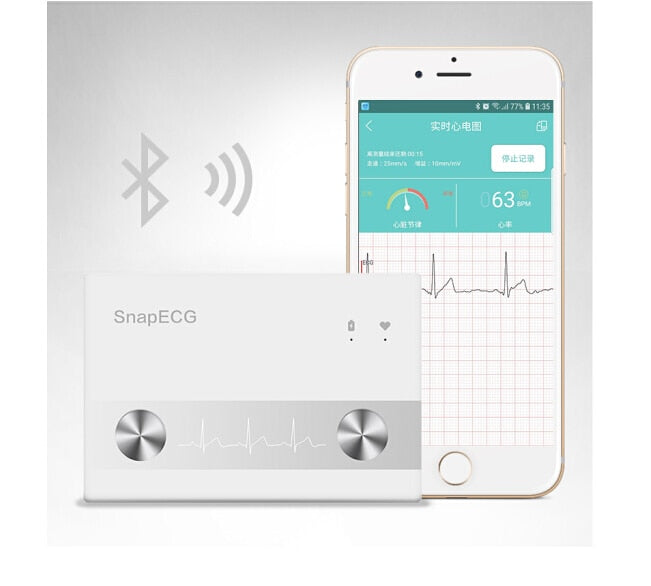 ECG Monitor for Home Wireless Heart Performance