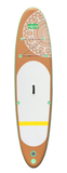 ****PRE-ORDER NOW FOR DELIVERY 4th WEEK OF MAY**** HIKS 10.6FT / 3.2M INFLATABLE STAND UP PADDLEBOARD ( SUP ) - MAORI HAWAII