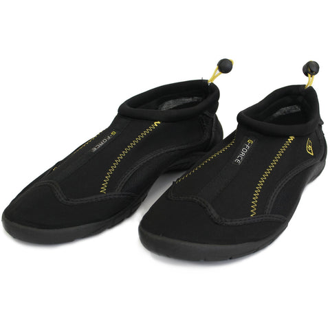 Black & Yellow GUL Aqua Shoegohiks