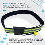 Quick Release SUP Leash Waist Belt Attachment (Junior Hi Viz)
