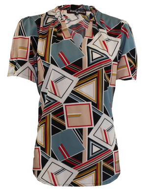 Rant & Rave Holly  Geometric Top