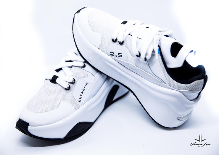 VL Chunky Trainers- Extreme White