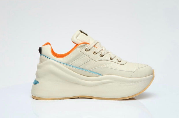 VL Chunky Trainers in Off-White