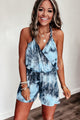 Better Be True Tie Dye Romper - JourneyBabez Boutique