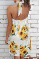 Sunflower Season Mini Dress - JourneyBabez Boutique