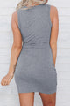 Knot Available Cutout Dress - JourneyBabez Boutique