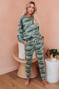 Chelsea Camo Lounge Set - JourneyBabez Boutique