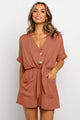 Just the Usual Tunic Romper - JourneyBabez Boutique