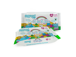 MARVEL BABY WET 40 WIPES