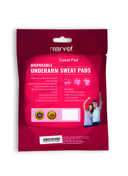 MARVEL UNDERARM SWEAT PADS