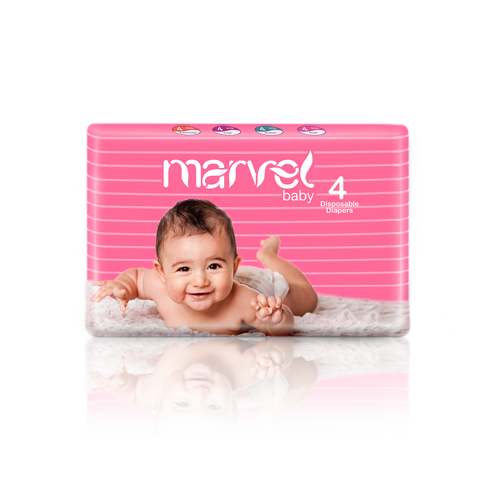 MARVEL BABY 4 PACK