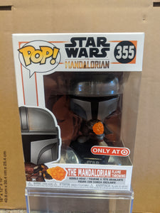 The Mandalorian Flame Throwing Target Exclusive