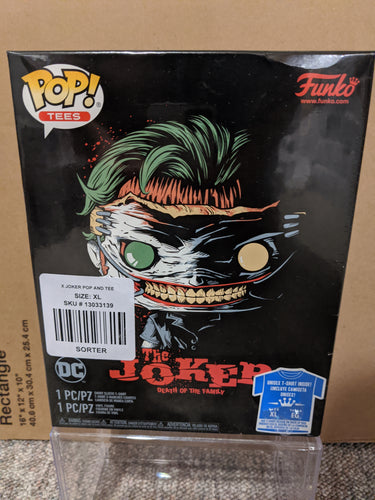 The Joker Pop n Tee (Size XL)