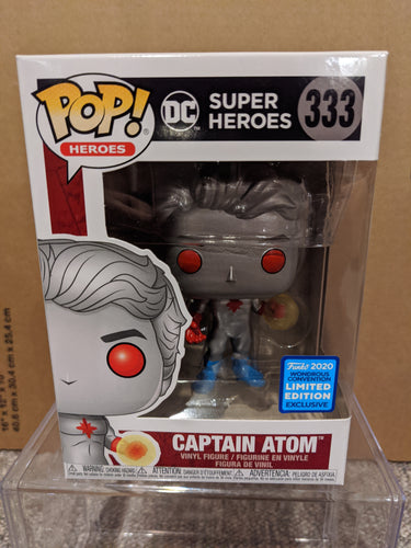 Captain Atom Wonderus Convention Exclusive