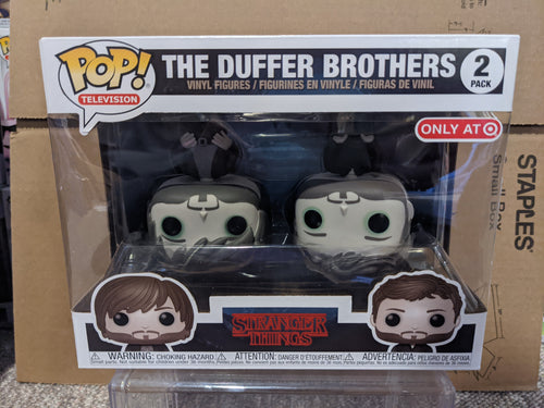 The Duffer Brother's 2 Pack Target Exclusive