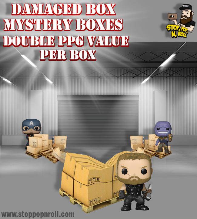 Double Value *DAMAGED* Mystery Boxes