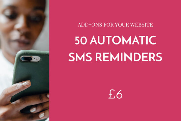 50 automatic SMS reminders