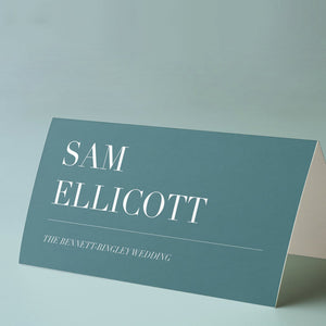 Minimalistic, modern placecards