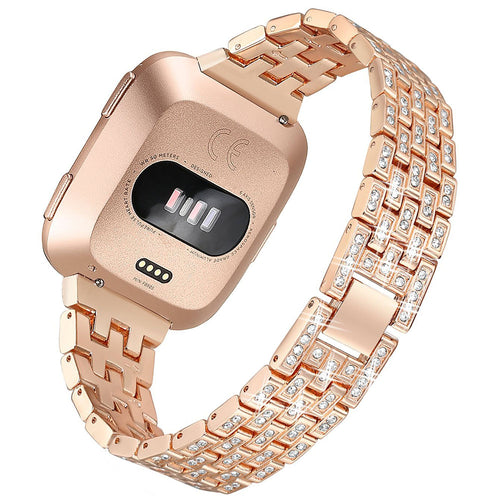 Luxury and elegance diamond band for Fitbit versa