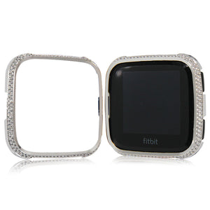 Luxury and elegant style watch case for Fitbit versa case