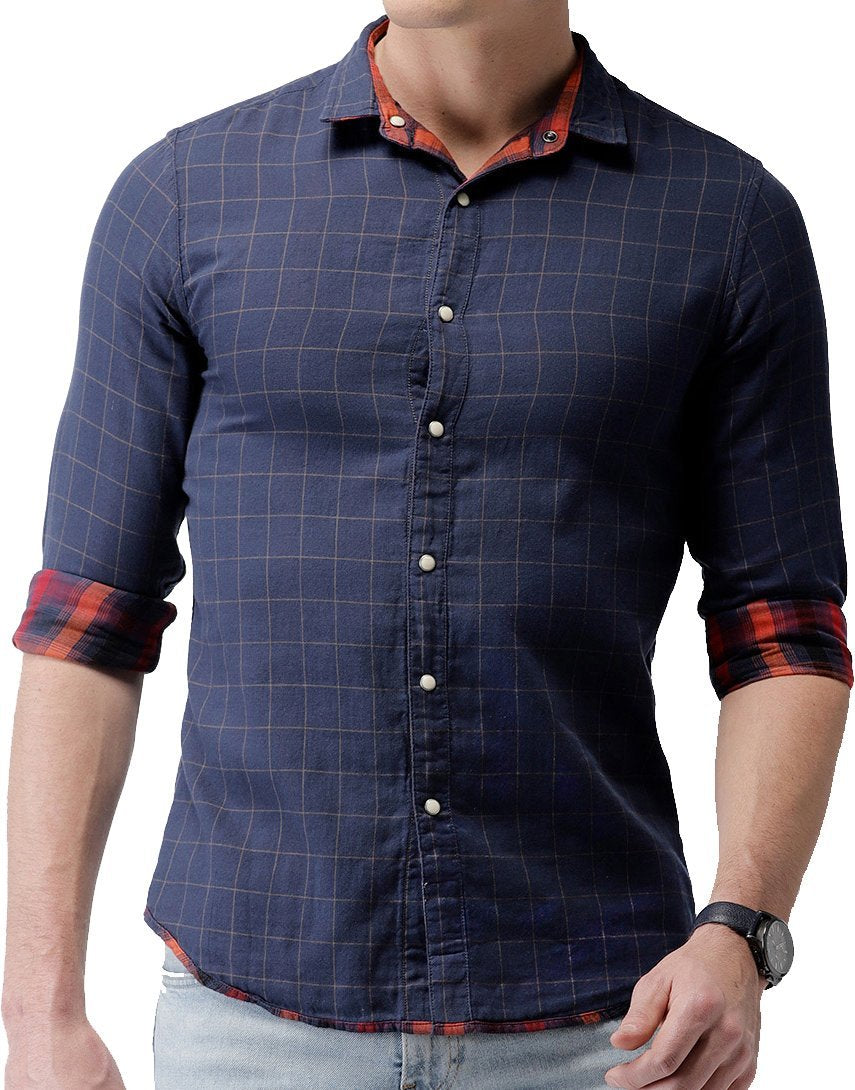 2facb5cf63e Casual Check Comfortable Shirts for Men pack of 2 – Farmzi.in