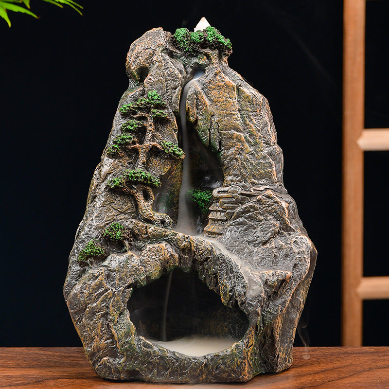The Cave Hill Aromatherapy Waterfall Incense Burner for Gift, Home and Office