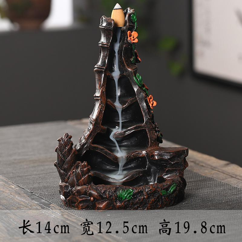 The Step Waterfall Aromatherapy Waterfall Incense Burner for Gift, Home and Office